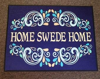 Scandinavian Swedish Rug ~ Door Mat #247 Home Swede Home