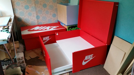 Lovely XL / Giant Trainer (16pairs)/ Sneaker Storage Boxes, Nike, Gift For Him,  Birthday Present, Gift, Present, Handmade, Personalised