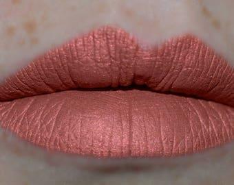 TABOO Matte Metallic Liquid Lipstick Terracotta Shade