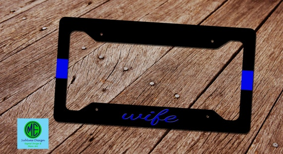 Design Your Own License Plate Frame With Your Own Logo