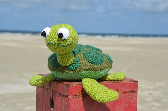 Amigurumi Tortoise Tutorial : Sea turtle crochet pattern sea turtle amigurumi pattern