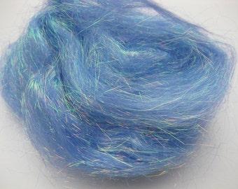 Angelina Fiber-Cobalt Sparkle-1/2 ounce-Heat Fusible