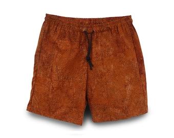 Mens Shorts Cotton Batik, Mens Cotton Shorts, Mens Gift Shorts, Mens Casual Shorts, Mens Batik Short
