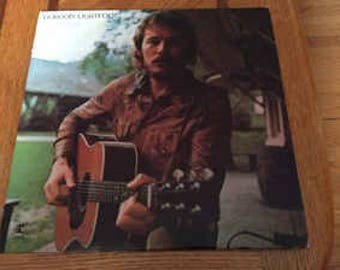 Gordon Lightfoot-Don Quixote LP: 1972 Vintage Vinyl Record
