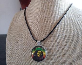 Bob Marley Rastafarian Necklace