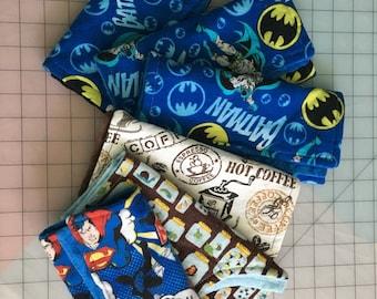 6 cozy burp cloths
