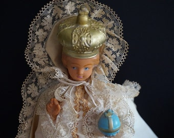 Vintage, Infant of Prague, Night Light