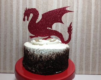 Dragon cake topper Etsy