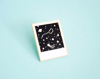 Constellation Polaroid / Enamel Pin