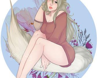 Lily the Fox [ Fanart Print ]