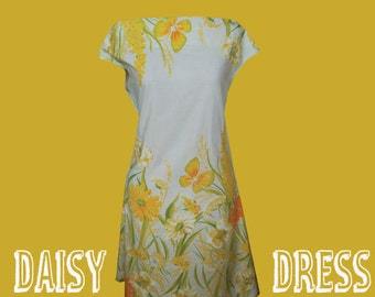 Daisy Dress Sewing Pattern - Simple Speedy Sewing - Ladies downloadable pdf  from Clothesline.