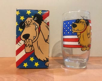 Vintage Wacky Races Water Glass