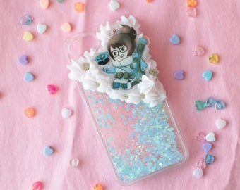 Fits iPhone 7/8 Overwatch Mei Glitterfall Decoden Case