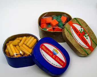 Packaged Play Food / Doll Food - Wooden Play Food