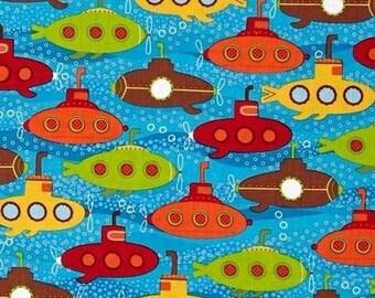 Patchwork underwater Kaufman fabric