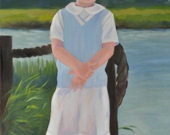 16x20 Custom Oil Portrait from Your Photographs
