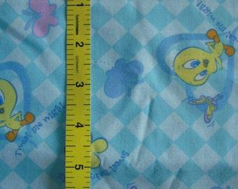 Baby Looney Tunes Tweety Fabric - 1/2 Yard