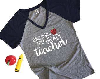 Proud to Be a Teacher- Teacher Tshirt - Teacher Shirt - Teaching - Shirt for Teachers - Teacher Gift - Gift for a Teacher - Teacher T Shirt