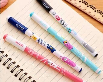Hello Pens, Cute Little Monster Friends