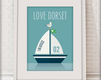 Swanage, Love Dorset collection