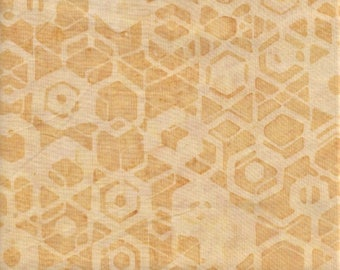Hoffman Bali Batiks 9609 966 Bumblebee HoneyComb By The Yard