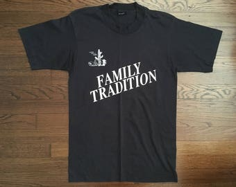 Screen Stars Vintage 'Family Tradition' Country Music's Finest Screen Stars Black Size Medium