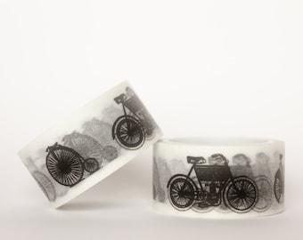 MINI 5M Vintage Bicycles Washi Tape