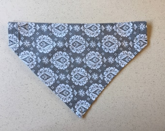 Reversible Dog Collar Bandana