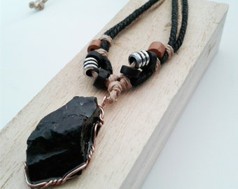 Shunghite Healing Necklace