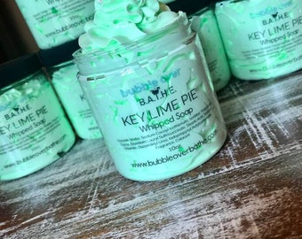 Key Lime Pie Whipped Soap