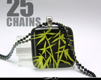 Colorful Chains. 25 Petite 1.5mm Colored Ball Chains. Choose Your Colors, Any Mix.
