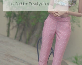 April 2018 BATCH 3 - Prototype Trousers for Fashion Royalty dolls