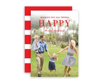 All Things Happy Photo Card