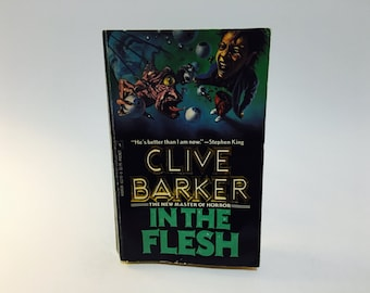 Vintage Horror Book In The Flesh by Clive Barker 1988 Paperback