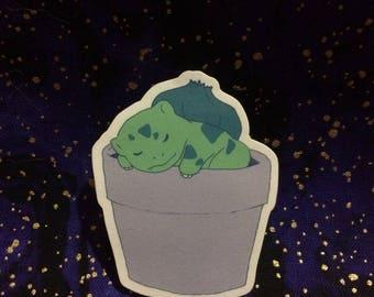Potted Bulbasaur sticker