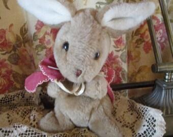Vtg 1980's Peter Rabbit Sister MOPSY Plush Stuffed Animal Bunny RABBIT, Beatrix Potter, Eden Toys