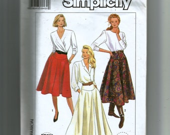 Simplicity Misses' Skirt in Three Lengths Pattern 9317