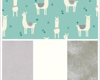 Llama, Llamas, Weighted Blanket, Cotton Flannel, Up to Twin Size, 3 to 20 Pounds, Adult Weighted Blanket, SPD, Autism, Calming Blanket