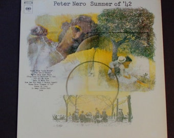 """Peter Nero - Summer of '42 - """"Love Story"""" - """"The Summer Knows"""" - Columbia Records 1972 - Stage and Screen - Vintage Vinyl LP Record Album"""