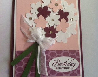 Stampin' UP! Bouquet of Flowers Card Kit