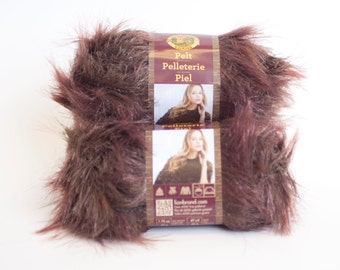 Yarn on Clearance Lion Brand Pelt in Mink 2 for 7 dollars Normally 5.50 each