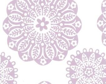 SALE 30% OFF Miriam in Violet Designer Cotton from Michael Miller Fabrics