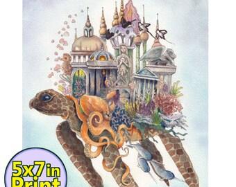 Ancient City  5x7 Print