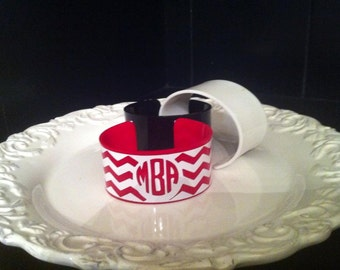 Personalized Acrylic Cuff Bracelet