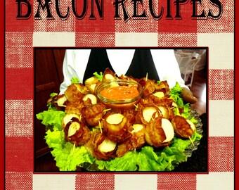 1817 Bacon Recipes E-Book Cookbook Digital Download