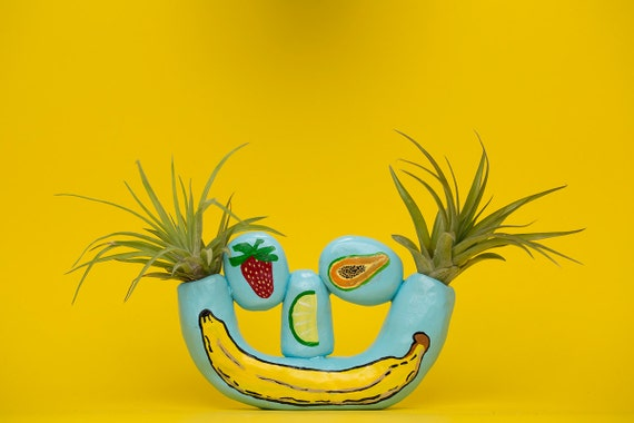 FRUIT HEAD SMILEY