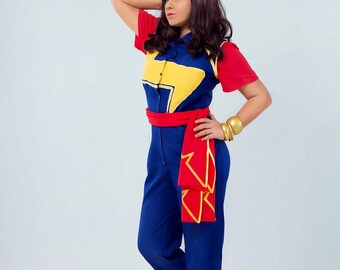 Ms. Marvel Kamala Khan cosplay costume (Redesign by chrispandart)
