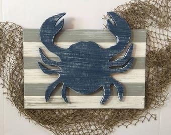 Nautical Crab Decor