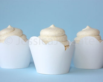 Cupcake Wrapper - White Cloud Cupcake Wrappers - Cloud Cupcake Wrappers - Cupcakes - Cupcake Wrapper - Party Decorations