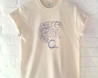 Beet T-Shirt, Food Shirt, Vegetable Shirt, Screen Printed T Shirt, Vegetable Print